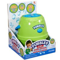 Little Kids® Fubbles™ No-Spill® Bubble Machine in Green/Yellow