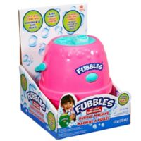 Little Kids® Fubbles™ No-Spill® Bubble Machine in Pink/Purple