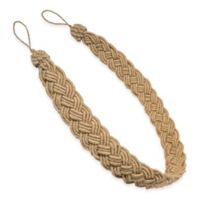 Eclectic Jute Braided Tie Back