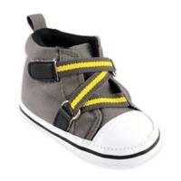 BabyVision® Luvable Friends™ Size 6-12M Zig Zag High Top Sneaker in Grey