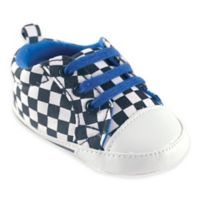 BabyVision® Luvable Friends™ Size 12-18M Print Canvas Sneaker in Checkered