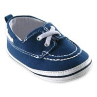 BabyVision® Luvable Friends™ Slip-On Shoe in Navy