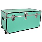Mercury Luggage/Seward 31-Inch Oversized Storage Trunk in Teal