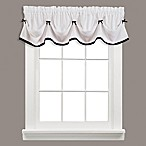 Kate Window Valance in Black