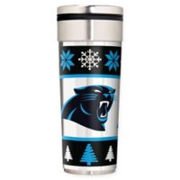 "NFL Carolina Panthers 22 oz. ""Ugly Sweater"" Stainless Steel Travel Tumbler"
