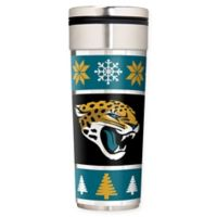 "NFL Jacksonville Jaguars 22 oz. ""Ugly Sweater"" Stainless Steel Travel Tumbler"