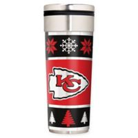 "NFL Kansas City Chiefs 22 oz. ""Ugly Sweater"" Stainless Steel Travel Tumbler"