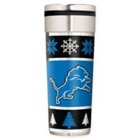 "NFL Detroit Lions 22 oz. ""Ugly Sweater"" Stainless Steel Travel Tumbler"