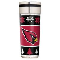 "NFL Arizona Cardinals 22 oz. ""Ugly Sweater"" Stainless Steel Travel Tumbler"