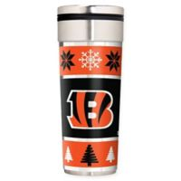 "NFL Cincinnati Bengals 22 oz. ""Ugly Sweater"" Stainless Steel Travel Tumbler"
