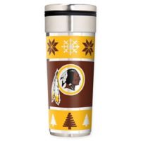 "NFL Washington Redskins 22 oz. ""Ugly Sweater"" Stainless Steel Travel Tumbler"