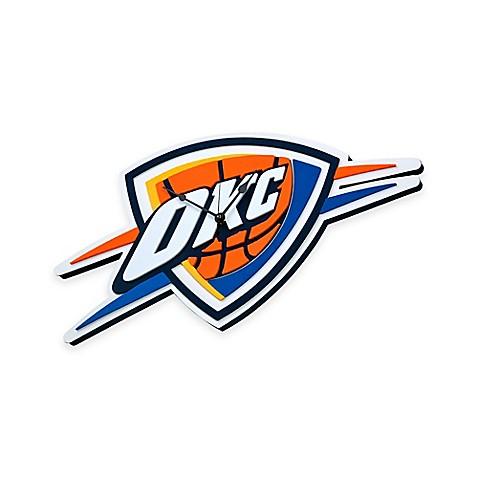 NBA Oklahoma City Thunder 3D Foam Wall Clock