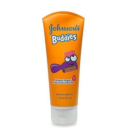Johnson Johnson 7 5 Oz Buddies Easy Comb Conditioner Buybuy Baby