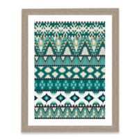 Tapestry Pattern II Framed Art Print