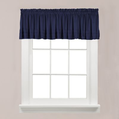 Buy Navy Blue Valances From Bed Bath Amp Beyond