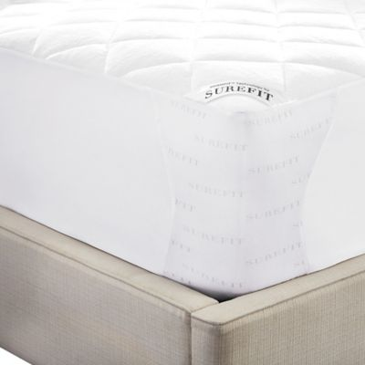 Sure Fit Deluxe Reversible California King Mattress Pad