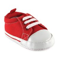 Baby Vision® Luvable Friends™ Size 0-6M Basic Canvas Sneaker in Red
