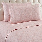 Micro Flannel® Enchantment Rose King Sheet Set