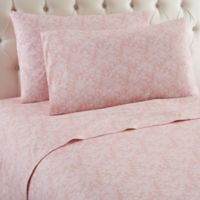 Micro Flannel® Enchantment Rose Queen Sheet Set