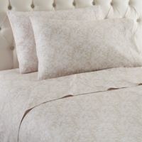 Micro Flannel® Enchantment Taupe Queen Sheet Set
