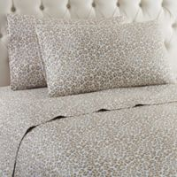 Micro Flannel® Leopard Twin Sheet Set