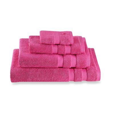 kate spade new york chattam stripe bath sheet in pink - Pink Bathroom Towels
