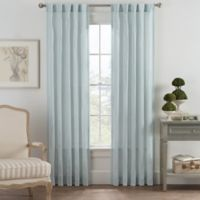 Bayport Fringe 63-Inch Rod Pocket/Back Tab Window Curtain Panel in Seafoam