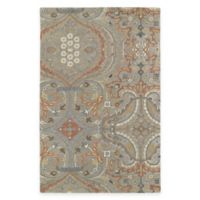 Kaleen Helena Collection Andreas 2-Foot x 3-Foot Accent Rug in Taupe