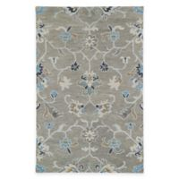 Kaleen Helena Collection Agave 4-Foot x 6-Foot Area Rug in Grey