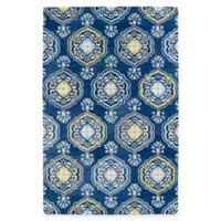 Kaleen Helena Collection Damali 2-Foot x 3-Foot Accent Rug in Blue