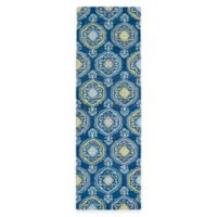 Kaleen Helena Collection Damali 2-Foot 6-Inch x 8-Foot Runner in Blue