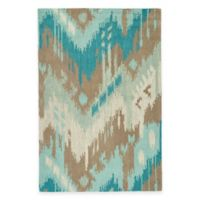 Kaleen Casual Tribal Chevron 7-Foot 6-Inch x 9-Foot Area Rug in Mint