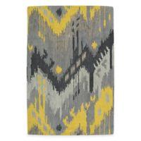 Kaleen Casual Tribal Chevron 8-Foot x 11-Foot Area Rug in Grey