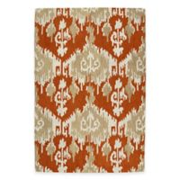 Kaleen Casual Sigmund 7-Foot 6-Inch x 9-Foot Area Rug in Paprika