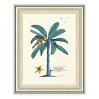 Blue Palm Tree I Framed Art Print