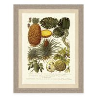 Palm and Fruit Tree I Framed Art Print
