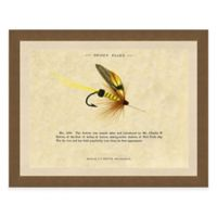Single Fishing Fly II Framed Art Print