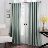 Havana 63-Inch Rod Pocket/Back Tab Window Curtain Panel in Spa