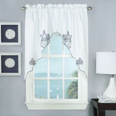 Captivating Biscayne Window Swag Pair
