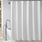 Wamsutta® Diamond Matelassé 72-Inch x 96-Inch Extra Long Shower Curtain in White
