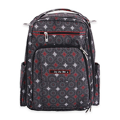 ju ju be be right back backpack style diaper bag in magic merlot buybuy baby. Black Bedroom Furniture Sets. Home Design Ideas