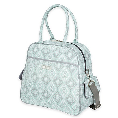 the bumble collection all in one backpack diaper bag in majestic mint buyb. Black Bedroom Furniture Sets. Home Design Ideas