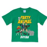 "Wild Kratts Size 2T ""Party Animal"" T-Shirt in Green"