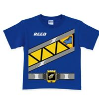 Power Rangers Dino Charge Blue Ranger T-Shirt in Blue