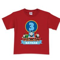 Thomas & Friends Size 3T Birthday Express T-Shirt in Red