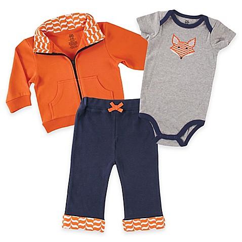 Bodysuit and Pant Set in Orange