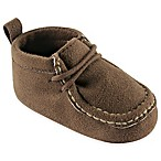 BabyVision® Luvabale Friends™ Size 6-12M Suede Shoe in Brown