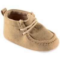 BabyVision® Luvable Friends™ Size 6-12M Suede Shoe in Tan