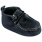BabyVision® Luvable Friends™ Size 0-6M Suede Shoe in Navy