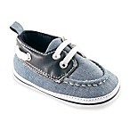 BabyVision™ Luvable Friends™ Size 6-12M Boat Shoe in Navy